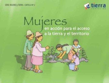 Mujeres en acción para el acceso a la tierra y el territorio