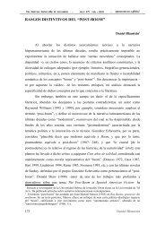 Rasgos distintivos del post-boom - iberoamericanaliteratura