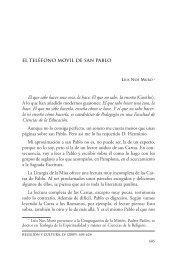 El teléfono móvil de San Pablo - Revista Religión y Cultura