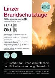 Programm Brandschutztage 2010 a