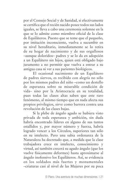 Descargá las primeras páginas de Flatland (2.37 ... - Ediciones Godot