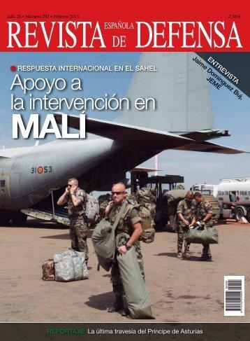 RED núm. 292. Operación en el Sahel - Ministerio de Defensa