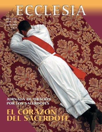 EL CORAZON DEL SACERDOTE EL CORAZON DEL SACERDOTE
