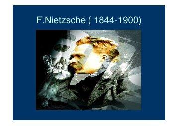 Presentaciones.Nietzsche 2012