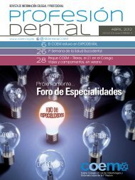 Profesión Dental abril 2012 - COEM