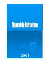 Manual de Estructura