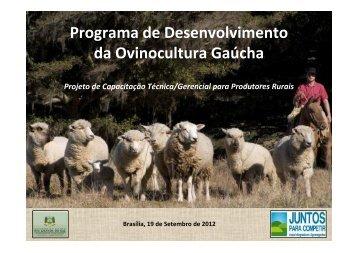 App programa desenvolvimentos de  ovinocultura gaucha