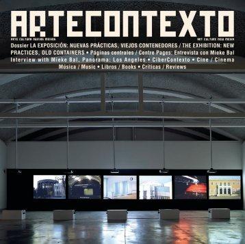 artecontexto+n25 - Daniel G. Andujar Archive