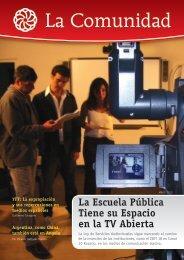 La Escuela Pública Tiene su Espacio en la TV ... - Canal 10 Rosario