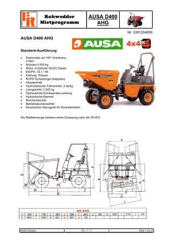 AUSA D400 AHG