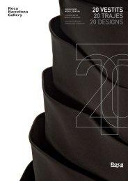 20 TRAJES 20 VESTITS 20 DESIGNS