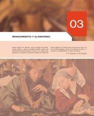RENACIMIENTO Y CLASICISMO - McGraw-Hill