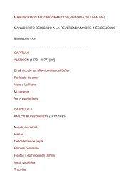 manuscritos autobiográficos (historia de un alma) - Catholic.net