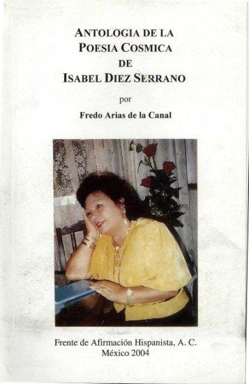 antologia de la poesia cosmica de isabel diez serrano - Frente de ...