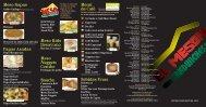 descargar menu - El Meson Sandwiches