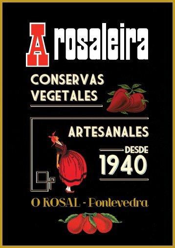 Conservas vegetales artesanales Conservas ... - A Rosaleira