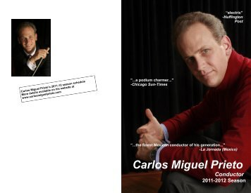 Carlos Miguel Prieto - grant communications