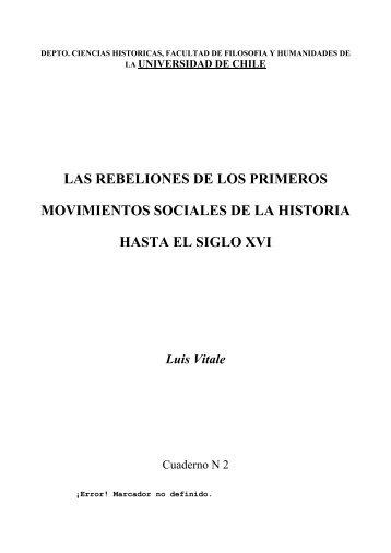las rebeliones de los primeros movimientos sociales de la historia