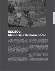 EKOSOL: Memoria e Historia Local - Revista Docencia