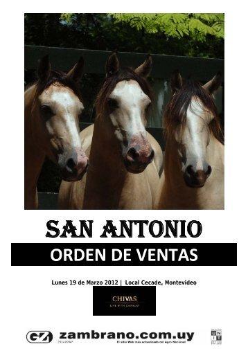 SAN ANTONIO - Zambrano & Cía.