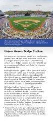 Los pase a 12 cam Política d Viaje en Metro al Dodger Stadium