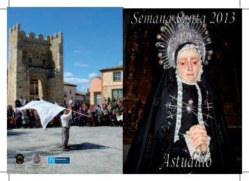 Folleto Seman Santa 2013