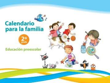 Calendario para la familia - Subsecretaría de Educación Básica ...