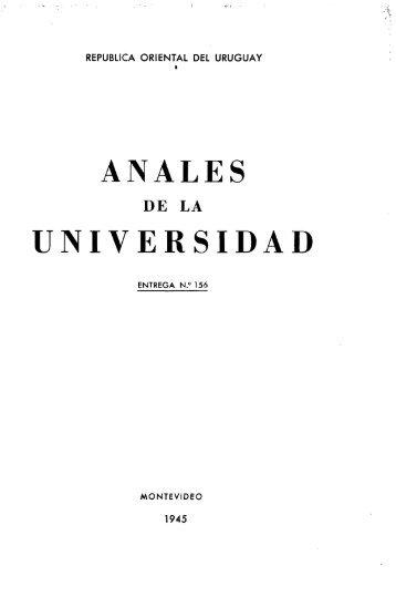Año 50, entrega 156 - Publicaciones Periódicas del Uruguay