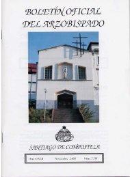 Noviembre nº 3.581 - Archidiócesis de Santiago de Compostela