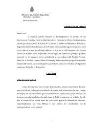 QUERELLA FALSA DENUNCIA COLOMBO - Oficina Anticorrupción