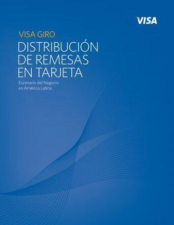 distribución de remesas en tarjeta - Currency of Progress - Visa