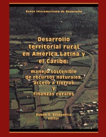 Desarrollo territorial rural - Red de Bibliotecas