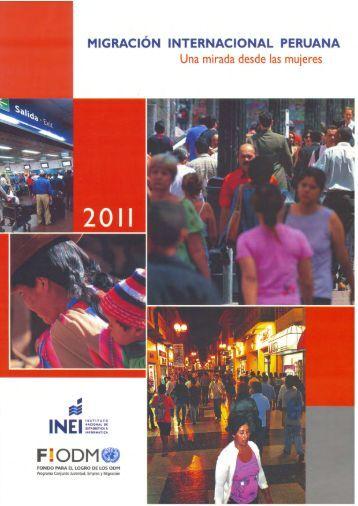 Migración internacional peruana: una mirada desde las ... - UNFPA