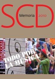 Memoria SCD 2010