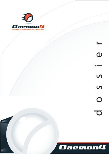 Dossier de empresa en pdf - Daemon4