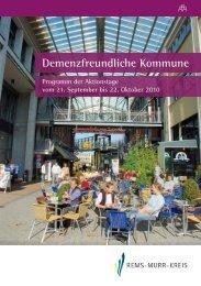 Demenzfreundliche Kommune - Alzheimer Gesellschaft Baden ...