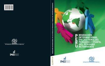 Migración internacional en las familias peruanas y perfil