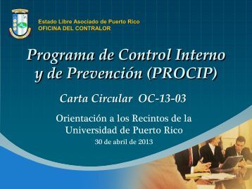 Click to add title - Oficina del Contralor - Estado Libre Asociado de ...