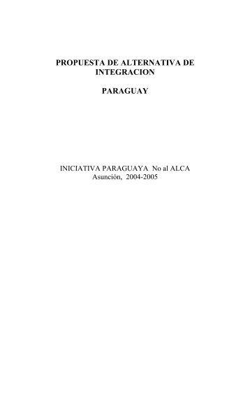 Deascargar PDF - People's Agenda for Alternative Regionalisms