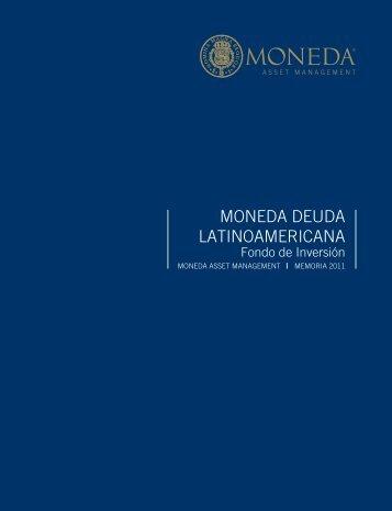 MONEDA DEUDA LATINOAMERICANA - Moneda Asset Management