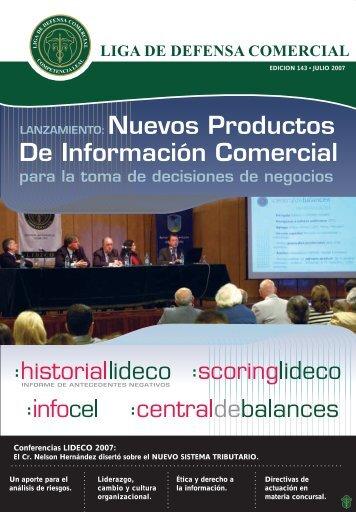 Conferencias LIDECO 2007: - Lideco.com