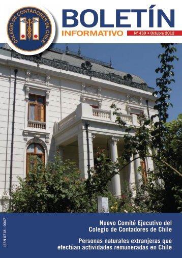 Octubre 2012 - Colegio de Contadores de Chile