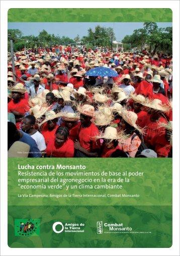 Lucha contra Monsanto