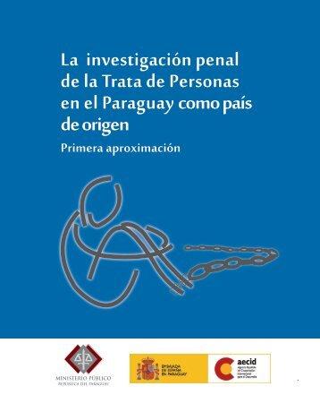 La investigación penal de la Trata de Personas en el Paraguay ...