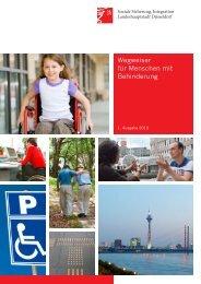Wegweiser für Menschen mit Behinderung - Stadt Düsseldorf
