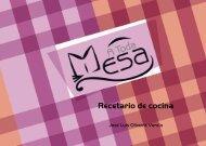 Recetario de cocina - Meubook