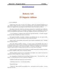 Arlt, Roberto - El juguete rabioso - ET Nº32 DE 14