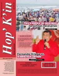 Fernando Ortega vs. no son tan necesarias