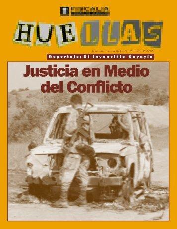 HUELLAS MARZO 2002 - Fiscalía General de la Nación