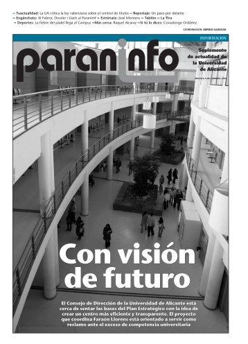 Diario Información - 06/02/2007 - Universidad de Alicante